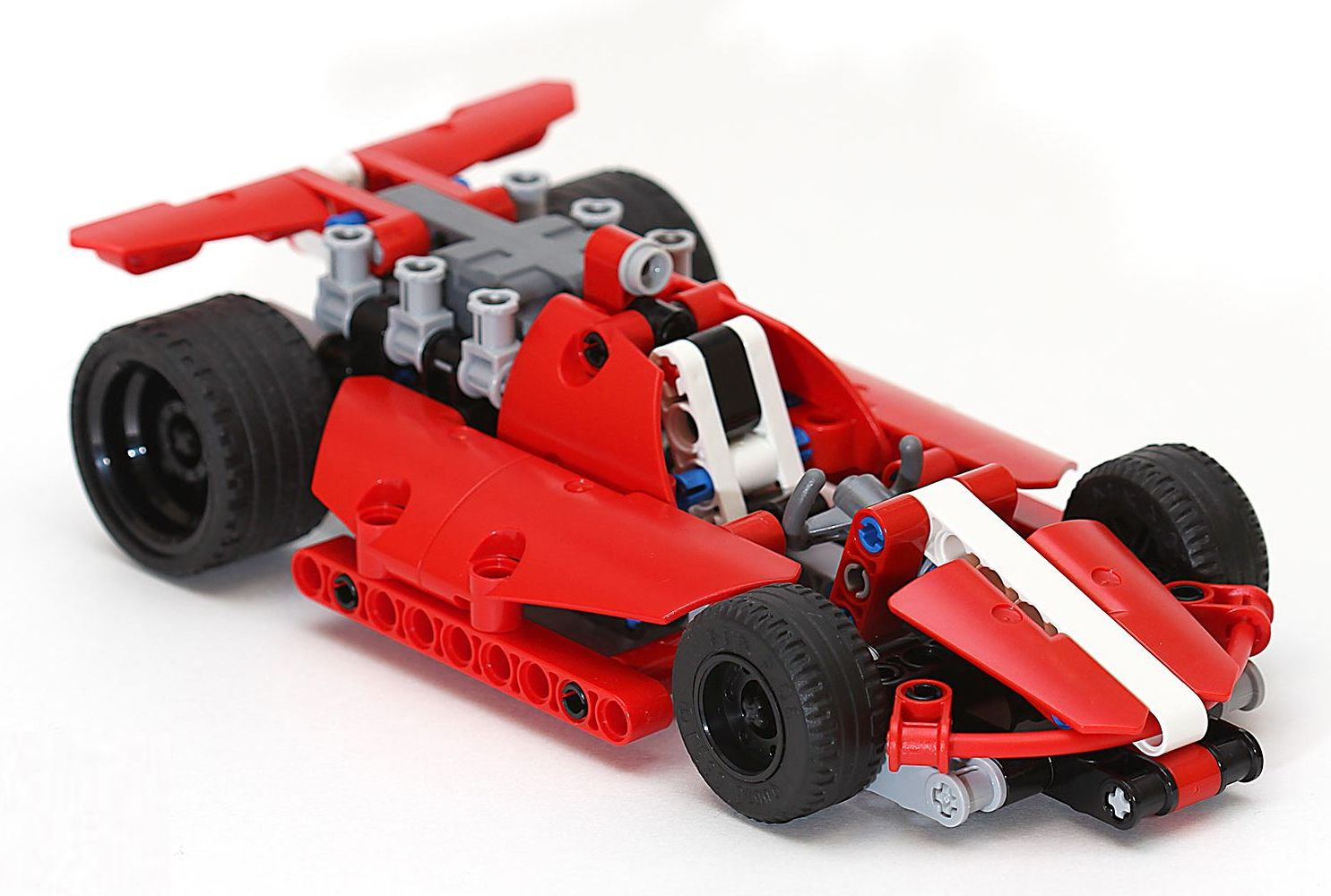 Lego Technic  Race Car Instructions
