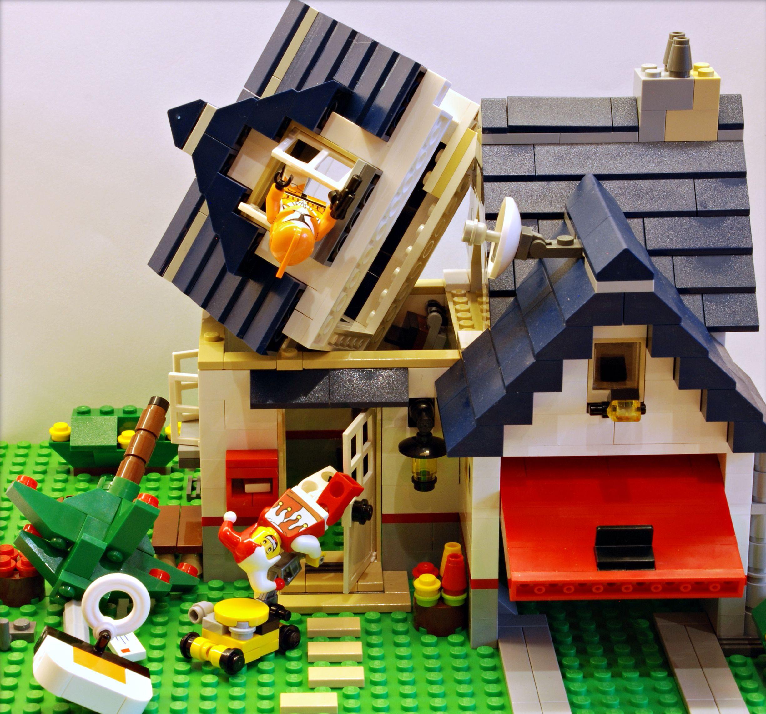 lego 5891 creator the apple tree house i brick city