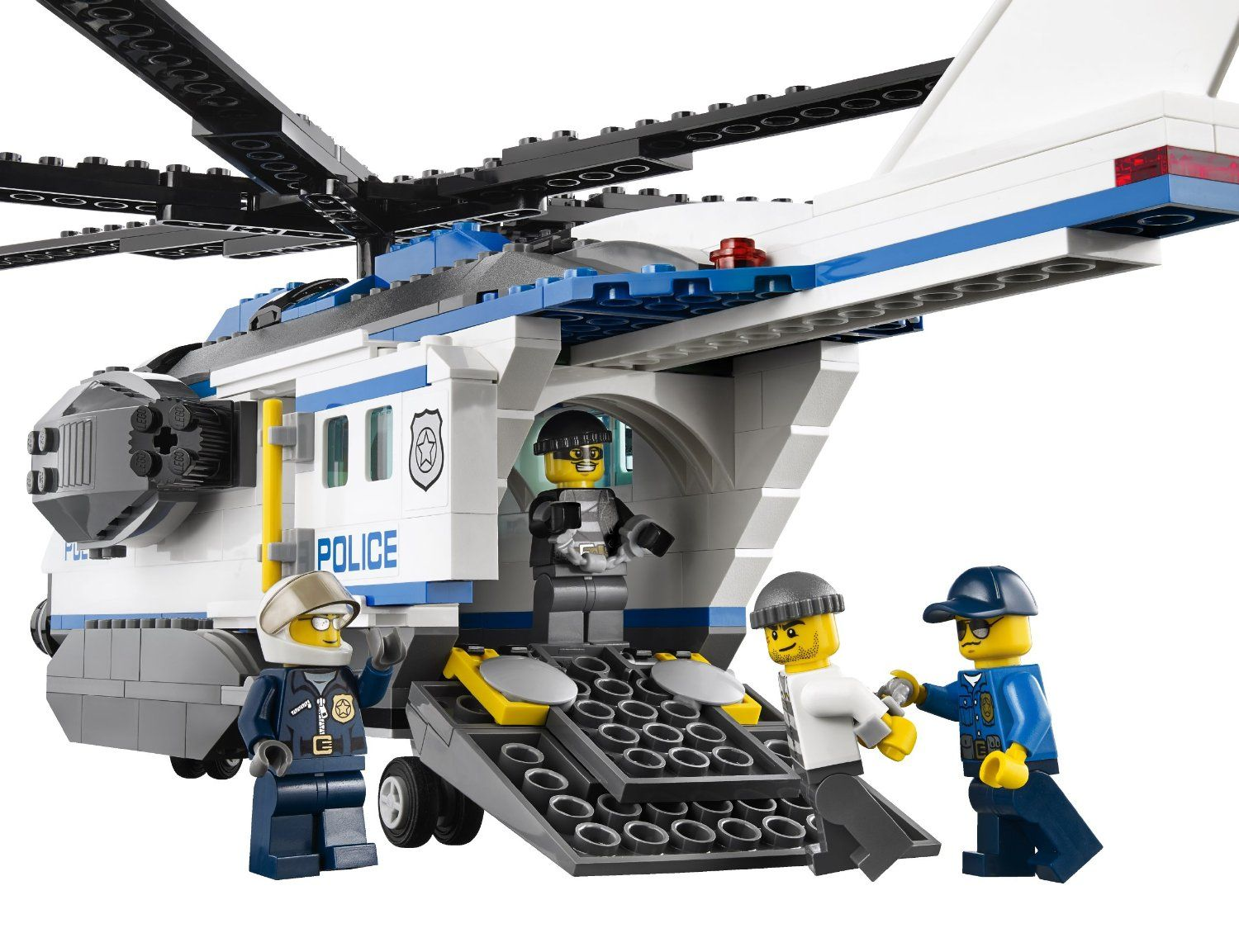 lego city police helicopters with Lego 60046 Helicopter Surveillance on P567846 together with Lego 60046 Helicopter Surveillance additionally Lego City Police Station Coloring Page Sketch Templates likewise Review 71266 Chase Mccain besides Lego Police Helicopter Set 4473 Instructions.