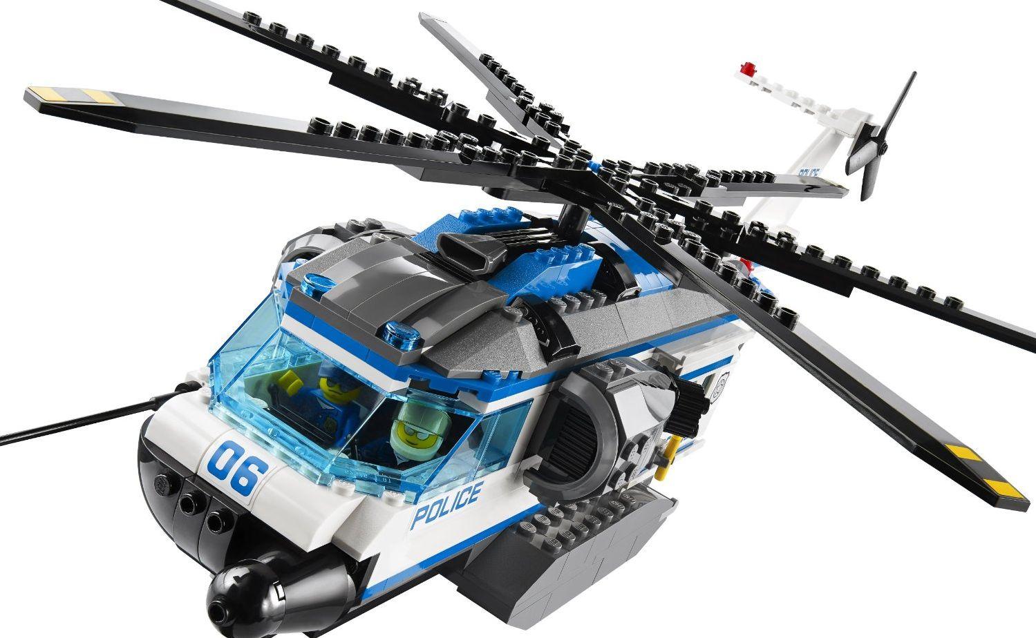 Lego 60046 – Helicopter Surveillance | i Brick City
