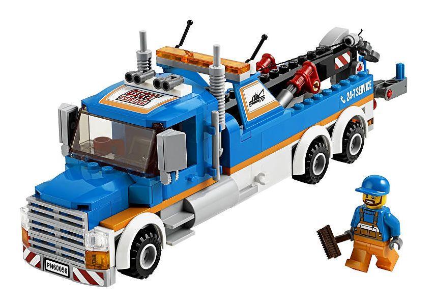 Lego 60056 tow truck i brick city for Brick city motors reviews
