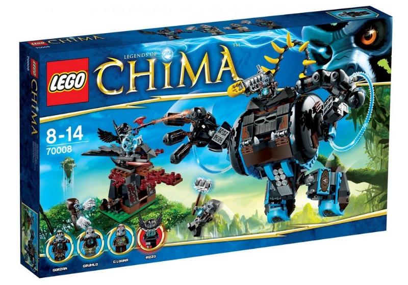 LEGO Legends of Chima Gorzan Figurine Nouveau.