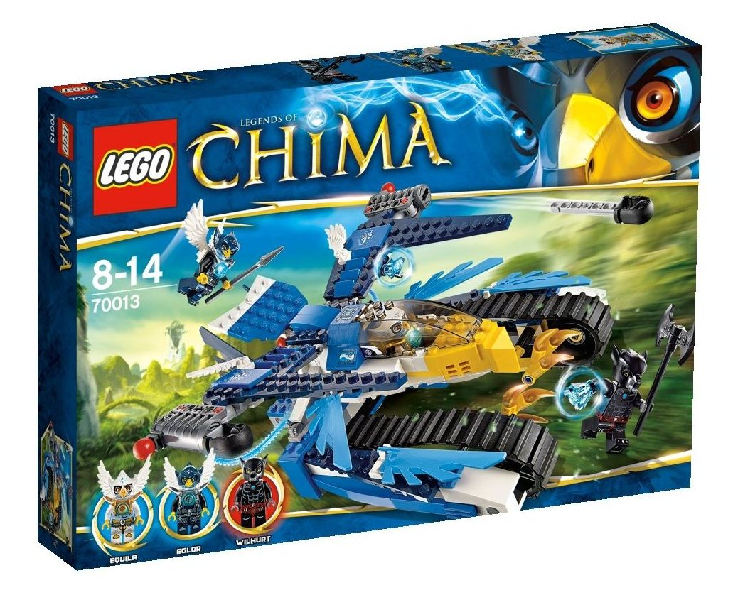 Equila Chima Lego 70013 Legends of ...