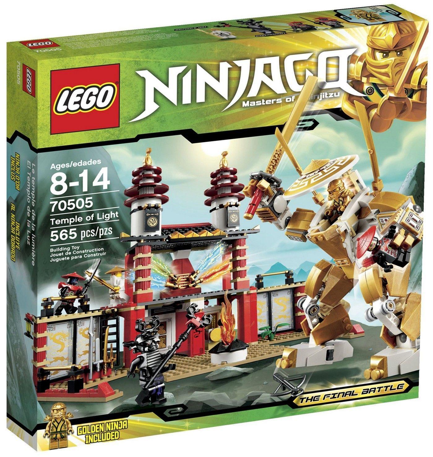Lego 70505 temple of light i brick city - Ninjago les 4 armes d or ...