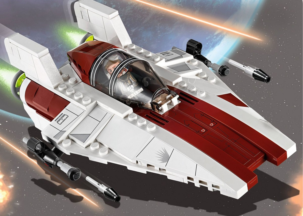 lego 75003 a wing starfighter i brick city. Black Bedroom Furniture Sets. Home Design Ideas