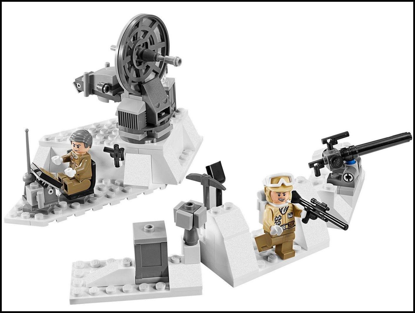 Lego 75014 star wars battle of hoth i brick city - Croiseur star wars lego ...