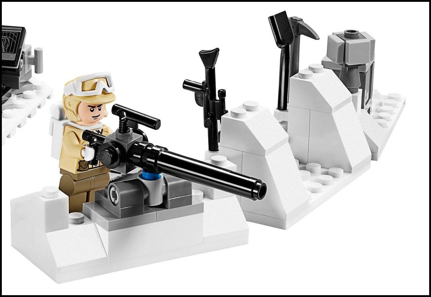 lego 75014 star wars battle of hoth i brick city. Black Bedroom Furniture Sets. Home Design Ideas