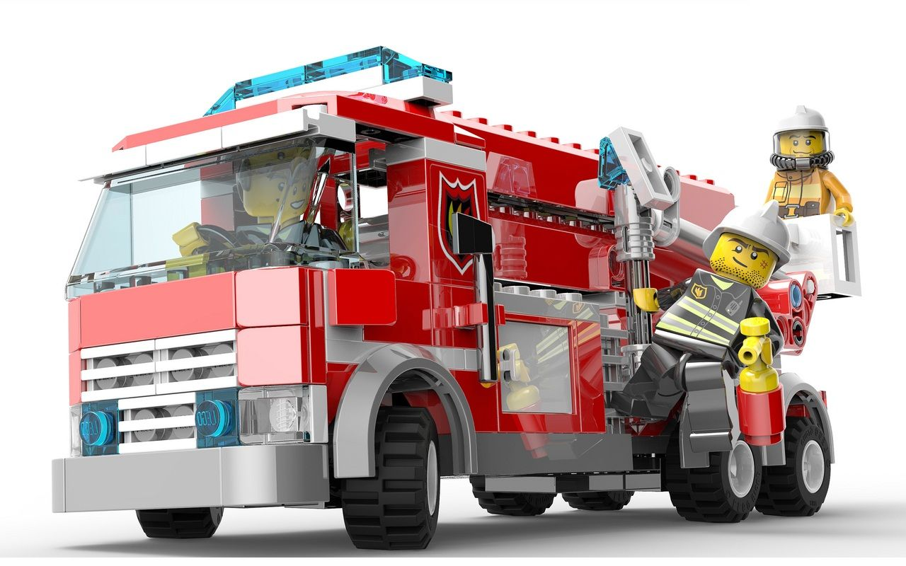 Lego City 2013 Fire Sets I Brick City