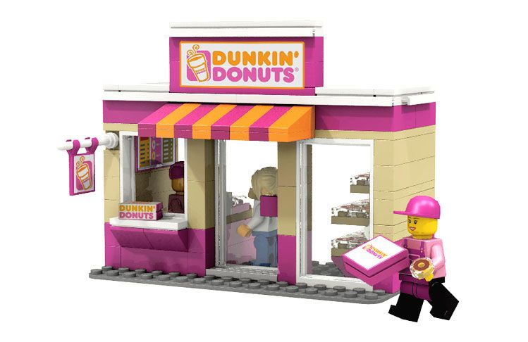 Lego Cuusoo Mini Shop Series I Brick City