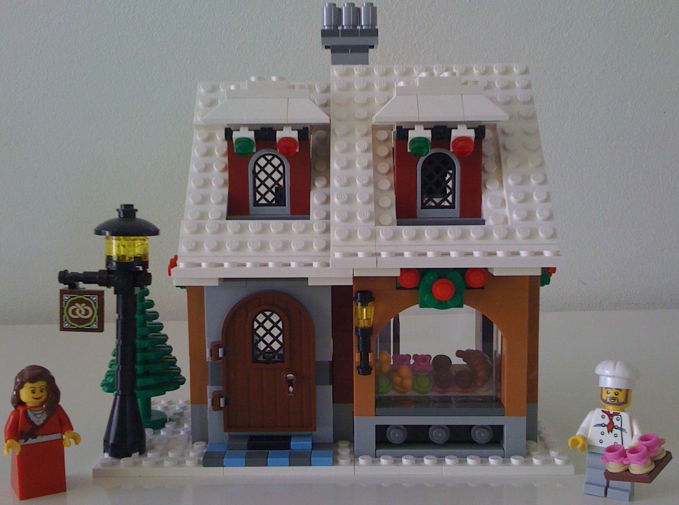 Lego 10216 Winter Village Bakery I Brick City