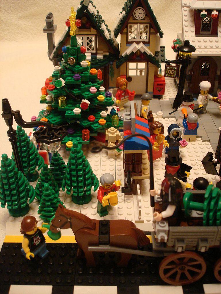 lego seasonal 10222 winter village post office i brick. Black Bedroom Furniture Sets. Home Design Ideas