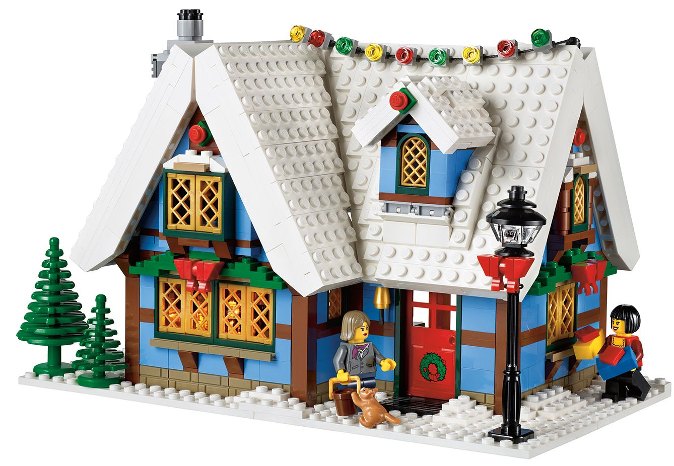 drawing room openrice lego 10229 winter cottage i brick city 10229