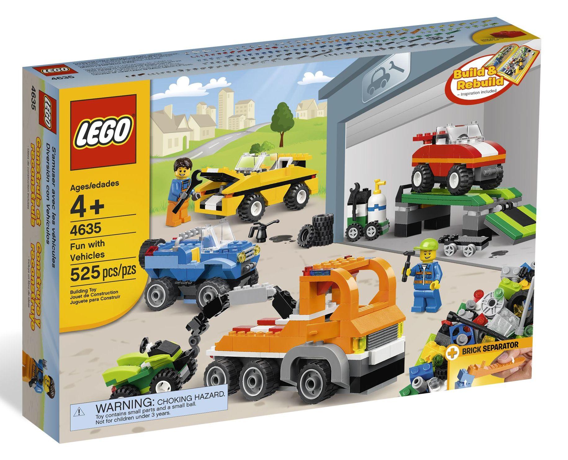 Lego 4635 fun with vehicles i brick city for Brick city motors reviews