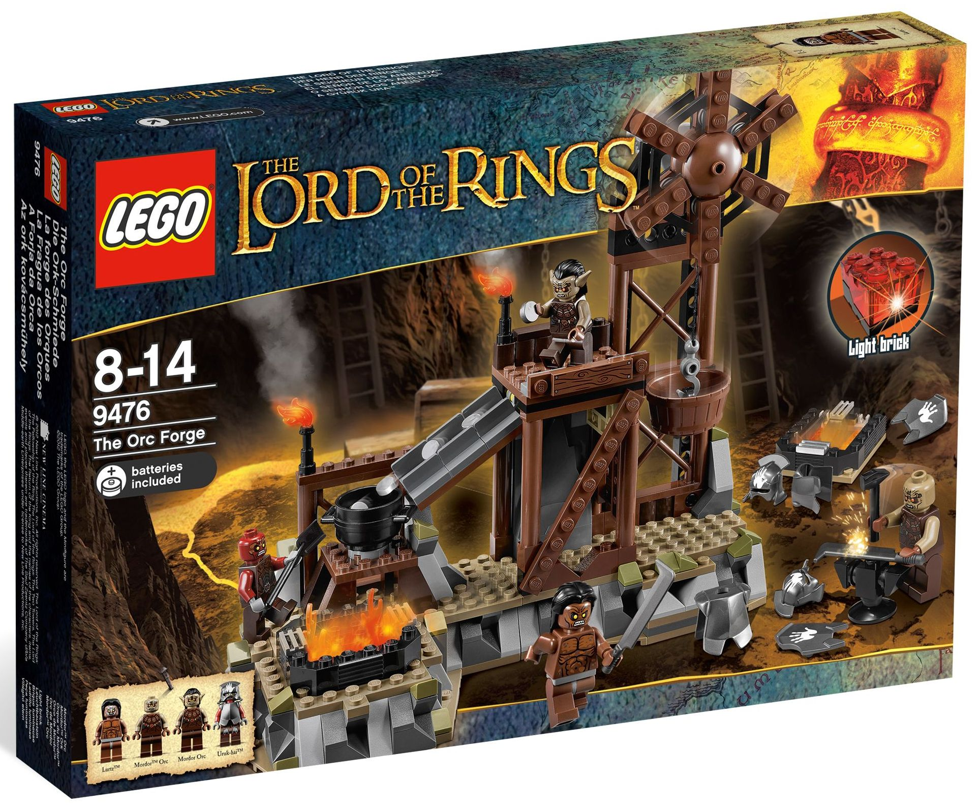 Lego 5001132 - The Lord of the Rings Collection   i Brick City