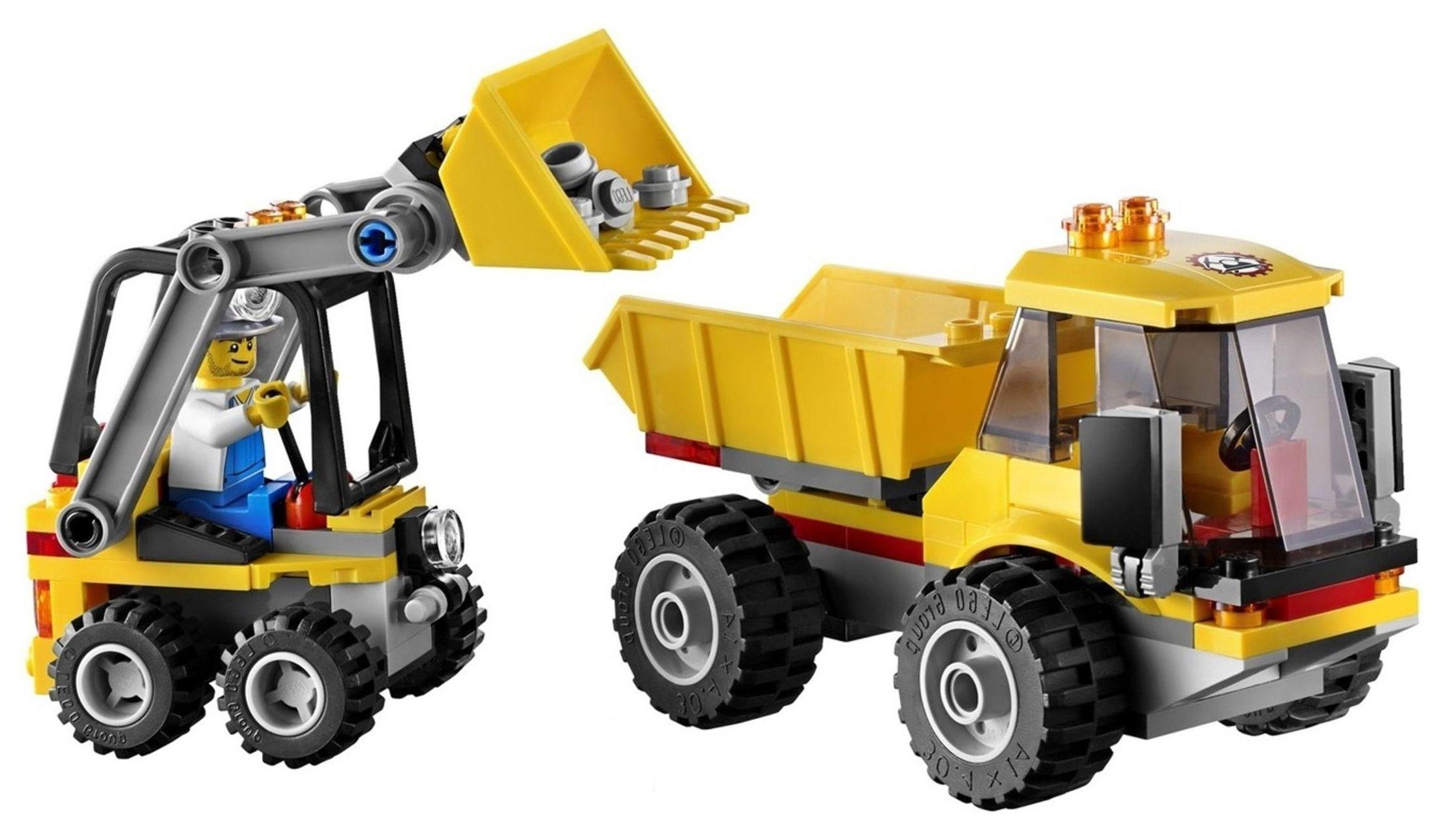 Lego city 5001134 mining collection pack i brick city - Construcciones de lego para ninos ...