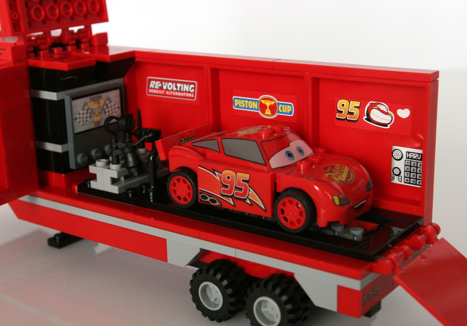 Lego Disney Cars Mack S Team Truck