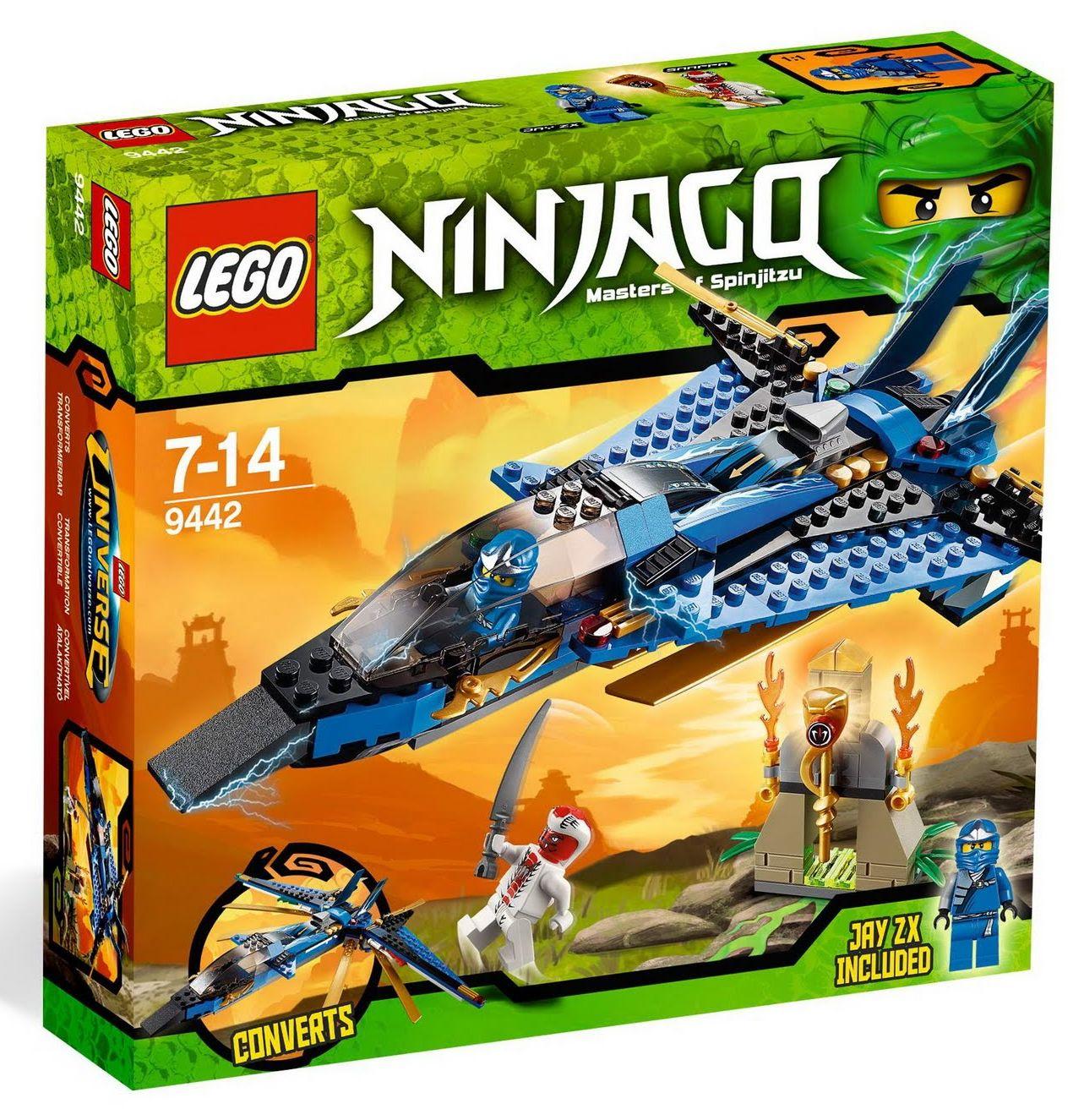 Lego 9442 ninjago jay 39 s storm fighter i brick city - Photo lego ninjago ...