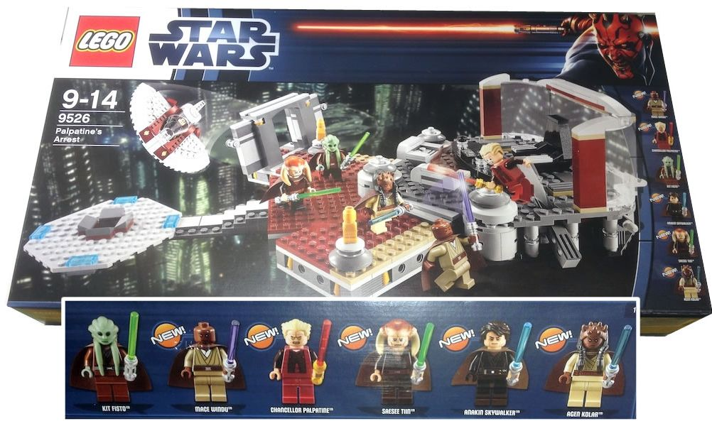 Lego Star Wars 9526 Palpatines Arrest I Brick City