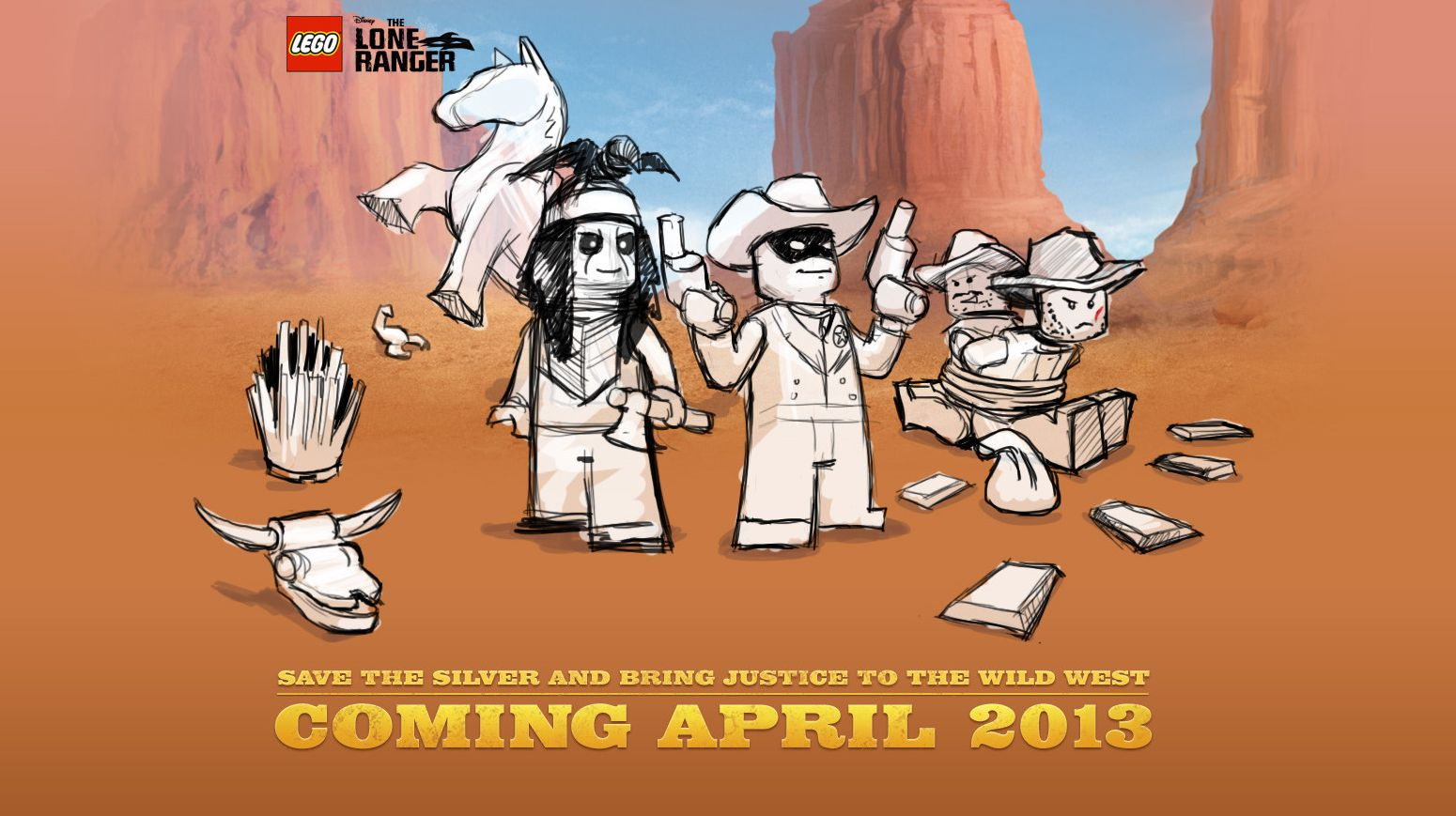 lone ranger lego coloring pages - photo#33