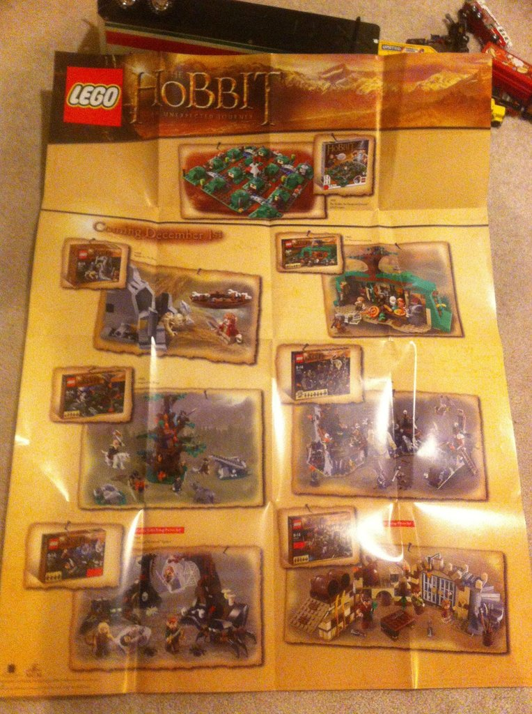 Lego Lord of The Rings – New 2013 hobbit sets   i Brick City